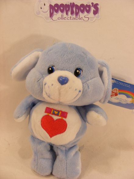 "BNWT 8"" 20TH ANNI LOYAL HEART DOG CARE BEARS"